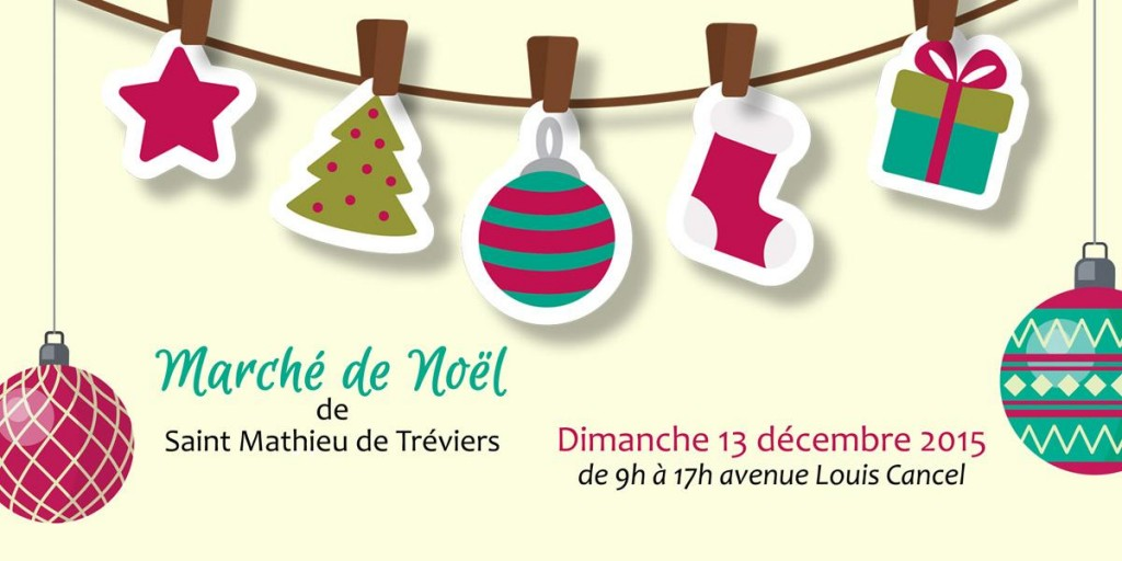 L'association « Les Pros de Saint Mathieu de Tréviers » vous offre à l'occasion du Marché de Noël une grande journée festive et gourmande