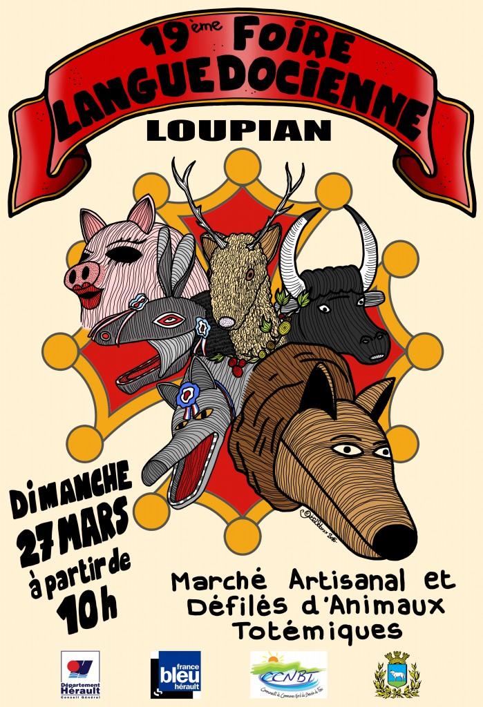 Loupian : Foire languedocienne avec démonstration des perles au chalumeau